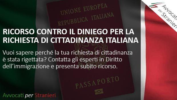 diniego cittadinanza italiana