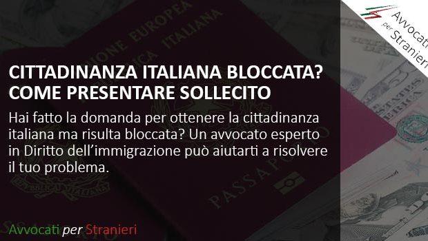 sollecito cittadinanza italiana